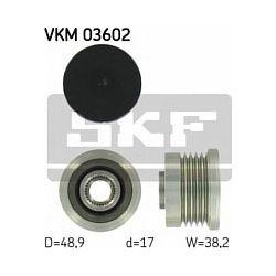 VKM 03602 SKF VKM03602 SPRZEGLO ALTERNATORA OPEL MOVANO/VIVARO/RENAULT LAGUNA II 1.9 DCI 01 SZT SKF SPRZEGLA ALTERNATORA SKF [879720]...