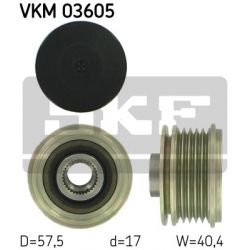 VKM 03605 SKF VKM03605 SPRZEGLO ALTERNATORA RENAULT CLIO II/III/MODUS 1.5 DCI 04 SZT SKF SPRZEGLA ALTERNATORA SKF [879728]...