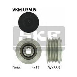 VKM 03609 SKF VKM03609 SPRZEGLO ALTERNATORA NISSAN PATROL/TERRANO/RENAULT MASTER 3.0 DTI/3.0 DCI 00 SZT SKF SPRZEGLA ALTERNATORA SKF [879745]...