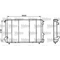 730185 V 730185 CHLODNICA RENAULT ESPACE 91-96 ESPACE II V6 SZT VALEO CHLODNICE VALEO [883606]...