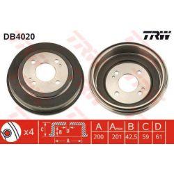 DB4020 TRW DB4020 BEBEN HAMULCOWY HONDA ACCORD III 85-89/ CIVIC IV/V 91-00 TYL TRW BEBNY TRW [893699]...