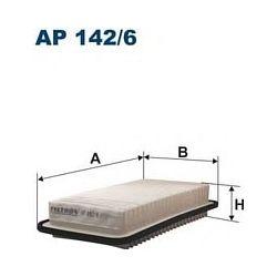 AP 142/6 F AP142/6 FILTR POWIETRZA TOYOTA COROLLA 2.0 D4D 04 SZT FILTRY FILTRON [893999]...
