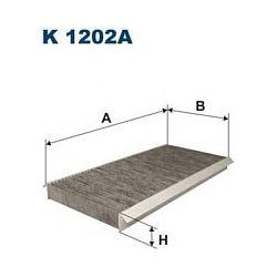 K 1202A F K1202A FILTR KABINOWY MERCEDES W169 04- FILTRY FILTRON [894032]...