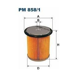 PM 858/1 F PM858/1 FILTR PALIWA CITROEN XANTIA 2,1TD 95-PEUGOT 406 SZT FILTRY FILTRON [895155]...