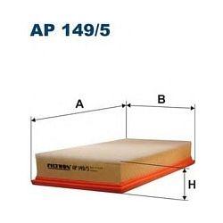 AP 149/5 F AP149/5 FILTR POWIETRZA ODMIANA AP 149/1 Z PREFILTREM SZT FILTRY FILTRON [895260]...