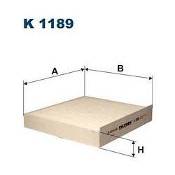 K1189 F K1189 FILTR KABINOWY ALFA ROMEO 159 1.9-2.4 05- ALFA BRERA 2.2/2.4 05- FILTRY FILTRON [895780]...