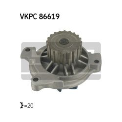 VKPC 86619 SKF VKPC86619 POMPA WODY VW LT 2,4D 90-97 SKF 20 ZEBOW SZT SKF POMPY WODY SKF [896909]...