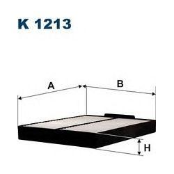 K 1213 F K1213 FILTR KABINOWY SUZUKI GRAND VITARA 1,6 16V 2,0 TDI 98- ; FILTRY FILTRON [898125]...
