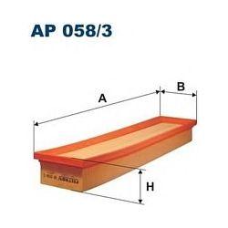 AP 058/3 F AP058/3 FILTR POWIETRZA CITROEN C4/PEUGEOT 307 04 425X95X51 SZT FILTRY FILTRON [898768]...
