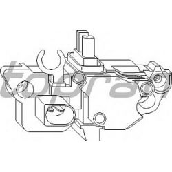 109 917 HP 109 917 REGULATOR NAPIECIA ALTERNATORA AUDI/MERCEDES/SKODA/VW TYP BOSCH OE 038903803E SZT HANS PRIES MULTILINIA HANS P [900046]...