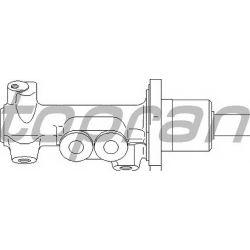 110 792 HP 110 792 POMPA HAMULCOWA NISSAN SUNNY/SEAT CORDOBA/IBIZA/TOLEDO/VW GOLF/PASSAT/VENTO SZT HANS PRIES MULTILINIA HANS PRI [900463]...