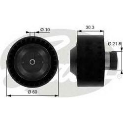 T36034 G T36034 ROLKA MICRO-V PROWADZACA CITROEN C3 1,4HDI PEUGEOT 206 1,4HD GATES ROLKI [902301]...