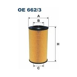 OE 662/3 F OE662/3 FILTR OLEJU VOLVO C30/C70 II/S40 II/S60 II/XC 60 07 SZT FILTRY FILTRON [902643]...