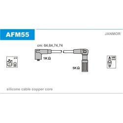AFM55 JAN AFM55 PRZEWOD ZAPLONOWY ALFA ROMEO 33/145/146 1.6/1.7 90 - 96 KPL JANMOR PRZEWODY ZAPLONOWE JANMOR [907977]...