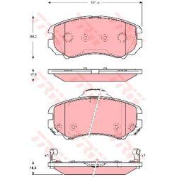 GDB3386 TRW GDB3386 KLOCKI HAMULCOWE KIA SPORTAGE 2,0 16V/ SPORTAGE 2,7 V6 TRW KPL TRW [913132]...