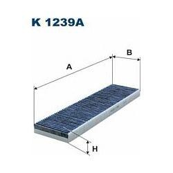 K 1239A F K1239A FILTR KABINOWY MINI COOPER II/MINI ONE II SZT FILTRY FILTRON [915849]...