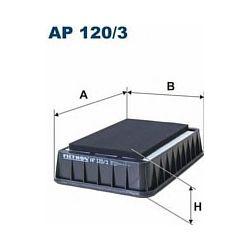 AP 120/3 F AP120/3 FILTR POWIETRZA MITSUBISHI LANCER/OUTLANDER PEUGEOT 4007 CITROEN C-CROSSER 2.0-2.2 HDI SZT FILTRY FILTRON [917336]...