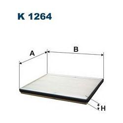 K 1264 F K1264 FILTR KABINOWY SUZUKI GRAND VITARA 05 SZT FILTRY FILTRON [918469]...
