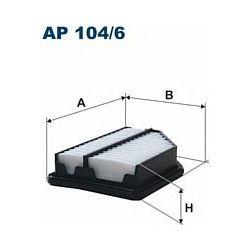 AP 104/6 F AP104/6 FILTR POWIETRZA HONDA CIVIC 1.4 06 SZT FILTRY FILTRON [918582]...