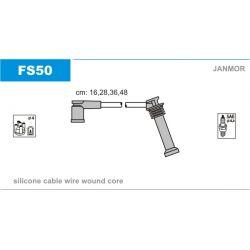 FS50 JAN FS50 PRZEWOD ZAPLONOWY MONDEO III/FIESTA V/MAZDA 6/MPV 1.8/2.0 2001 - KPL JANMOR PRZEWODY ZAPLONOWE JANMOR [918825]...