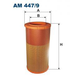 AM 447/9 F AM447/9 FILTR POWIETRZA DAF 55 LF 06- ; SZT FILTRY FILTRON [919950]...
