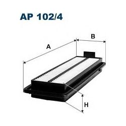 AP 102/4 F AP102/4 FILTR POWIETRZA HONDA ACCORD/CR-V/FR-V 2.2 CDTI 04 SZT FILTRY FILTRON [923039]...