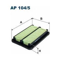 AP 104/5 F AP104/5 FILTR POWIETRZA HONDA CIVIC VII 1.3 16V V-TEC 04-05 SZT FILTRY FILTRON [923040]...