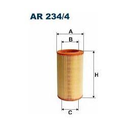 AR 234/4 F AR234/4 FILTR POWIETRZA FIAT BRAVO/LANCIA DELTA 07 ; SZT FILTRY FILTRON [923043]...