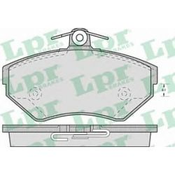 05P718 LPR 05P718 KLOCKI HAMULCOWE SEAT CORDOBA/ IBIZA/ TOLEDO/ VW GOLF/ POLO GR.16MM* LPR KLOCKI LPR [923947]...