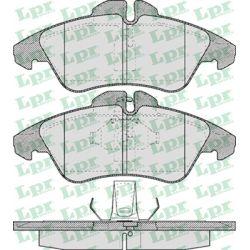 05P608 LPR 05P608 KLOCKI HAMULCOWE MERCEDES VITO/ SPRINTER 96- VW LT 28-35 GR.20,5MM* LPR KLOCKI LPR [924021]...