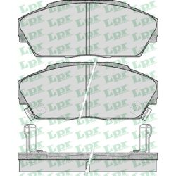 05P555 LPR 05P555 KLOCKI HAMULCOWE HONDA ACCORD/ PRELUDE/ ROVER 820/825/827 GR.17,5MM* LPR KLOCKI LPR [924046]...