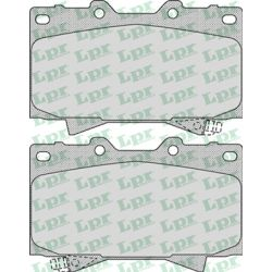 05P1050 LPR 05P1050 KLOCKI HAMULCOWE TOYOTA LANDCRUISER 70/100/500 98- GR.15,5MM* LPR KLOCKI LPR [924399]...
