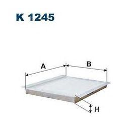 K 1245 F K1245 FILTR KABINOWY KIA CEED/HYUNDAI I30 06 SZT FILTRY FILTRON [925614]...