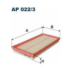 AP 022/3 F AP022/3 FILTR POWIETRZA FIAT 500, PANDA II 1,4I 07 - SZT FILTRY FILTRON [926477]...