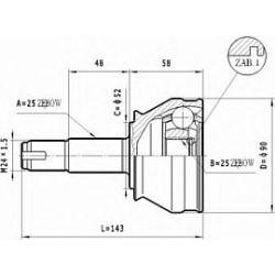 C.167 STA C.167 PRZEGUB HOMOKIN. ZEWN- FIAT BRAVO/VA 1.9TD 96-01 SZT STATIM PRZEGUBY STATIM [928509]...