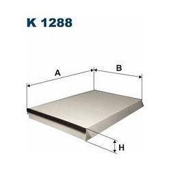 K 1288 F K1288 FILTR KABINOWY MERCEDES SPRINTER II/ VW CRAFTER FILTRY FILTRON [929838]...