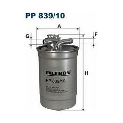 PP 839/10 F PP839/10 FILTR PALIWA AUDI A4/A6 04 2.0 TDI SZT FILTRY FILTRON [929999]...