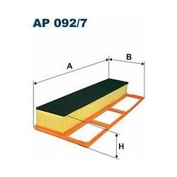 AP 092/7 F AP092/7 FILTR POWIETRZA FIAT 500/DOBLO/GRANDE PUNTO/IDEA/LINEA/LANCIA MUSA 1.3/1.3 JTD SZT FILTRY FILTRON [931552]...