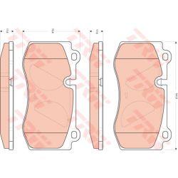 GDB1733 TRW GDB1733 KLOCKI HAMULCOWE MERCEDES-BENZ KLASA E (W211)/ KLASA S (W221/C216)/ SL (R230) PRZOD TRW KPL TRW [932006]...