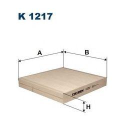 K 1217 F K1217 FILTR KABINOWY NISSAN MURANO/X-TRAIL/INFINITI FX 03 ; 216X200X30 SZT FILTRY FILTRON [932081]...