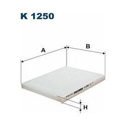 K1250 F K1250 FILTR KABINOWY HYUNDAI IX20/KIA VENGA 00 ; SZT FILTRY FILTRON [932903]...