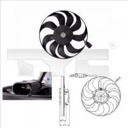 802-0001 TYC 802-0001 WENTYLATOR CHLODNICY AUDI A3, VW TOURAN SZT TYC TYC CHLODNICE TYC [932988]...