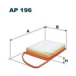 AP 196 F AP196 FILTR POWIETRZA CITR BERLINGO III/C3/C4/C5/PEUG 207/308/3008/5008/PARTNER 1.6HDI SZT FILTRY FILTRON [933117]...