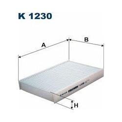 K1230 F K1230 FILTR KABINOWY RENAULT FLUENCE/NISSAN JUKE SZT FILTRY FILTRON [933345]...