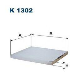 K 1302 F K1302 FILTR KABINOWY NISSAN MICRA IV K13 1.2 12V 10 SZT FILTRY FILTRON [933867]...