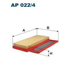 AP 022/4 F AP022/4 FILTR POWIETRZA FIAT 500/FORD KA II 1.4 16V TURBO 135KM 08 ; SZT FILTRY FILTRON [933887]...