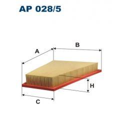 AP 028/5 F AP028/5 FILTR POWIETRZA BMW X1 E84/ Z4 E89 2.0-3.0 09 SZT FILTRY FILTRON [933888]...