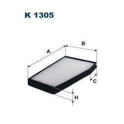 K1305 F K1305 FILTR KABINOWY CHEVROLET EPICA/EVANDA 06 ; SZT FILTRY FILTRON [935419]...