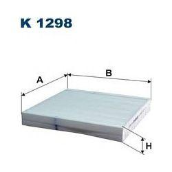 K 1298 F K1298 FILTR KABINOWY HONDA CITY/CR-Z/JAZZ III SZT FILTRY FILTRON [936990]...