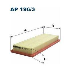 AP 196/3 F AP196/3 FILTR POWIETRZA CITROEN C4 II/PEUGEOT 308/MINI COOPER 1.6 SZT FILTRY FILTRON [937173]...